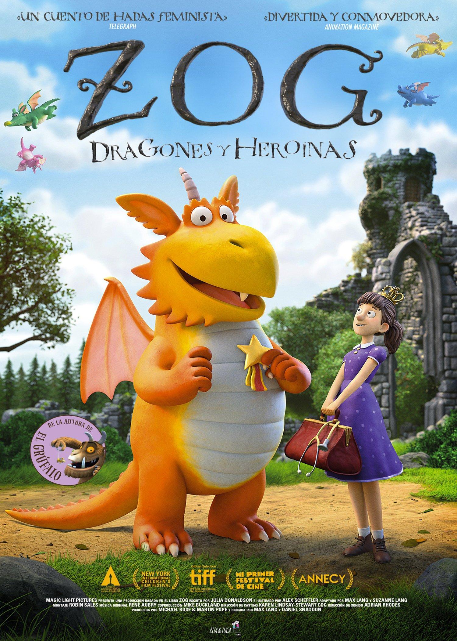Zog, dragones y heroínas