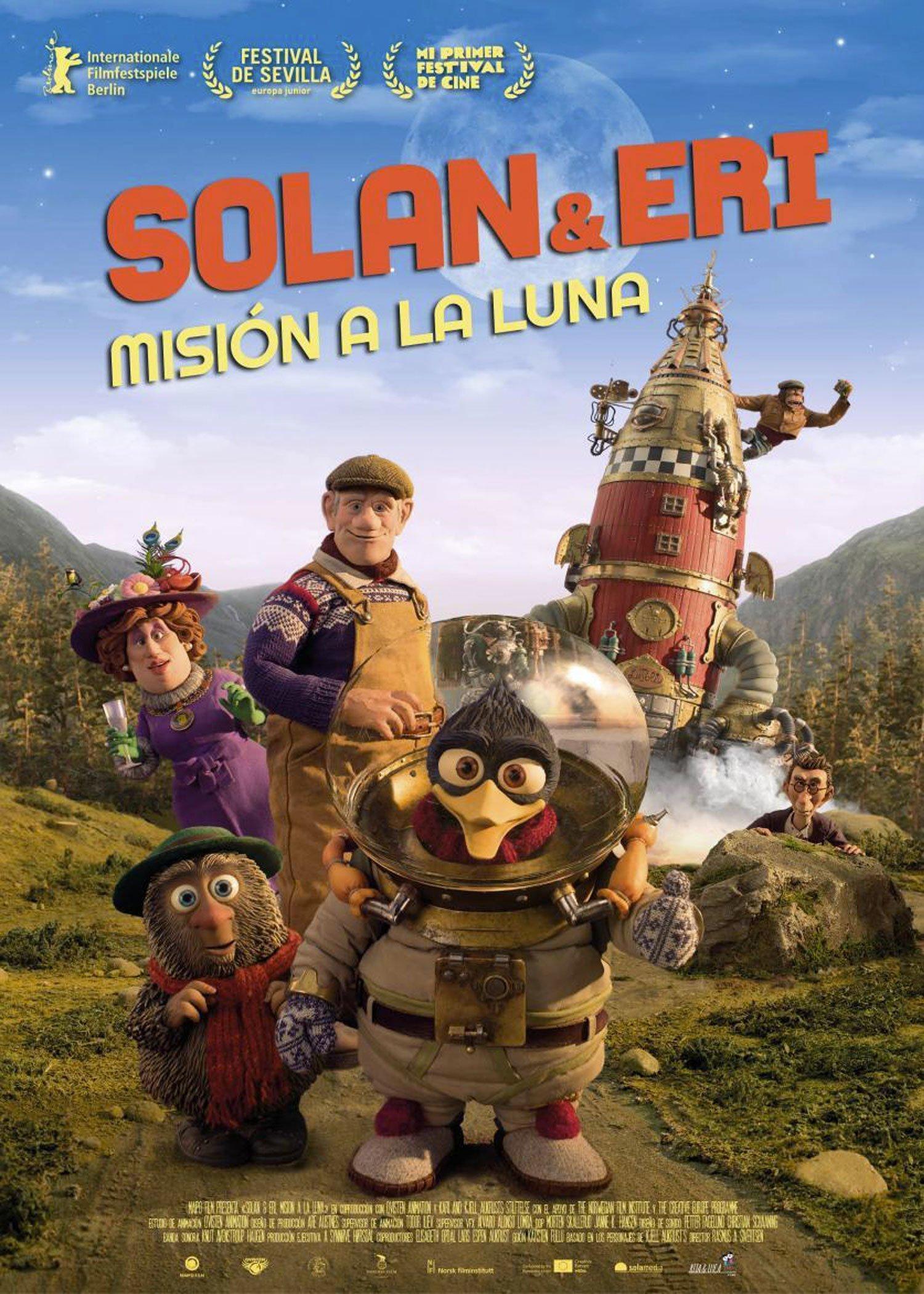 Solan&Eri: Misión a la luna